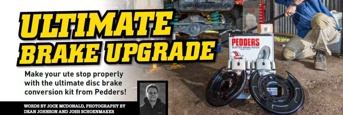 TrakRyder disc conversion kit article in 4wd action article