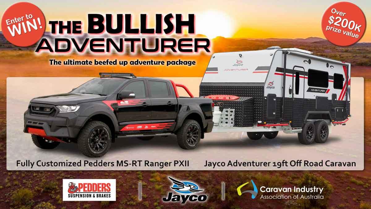 The Bullish Adventurer 4x4 and Caravan package!